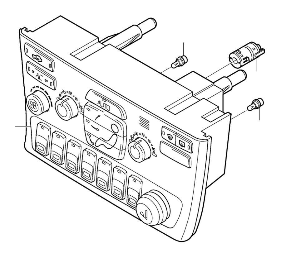 Volvo 260 Fuse Box