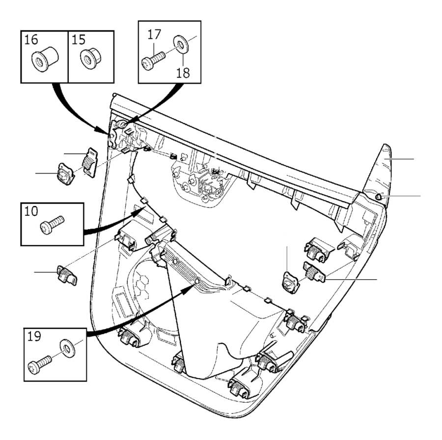 Oem 2010 Volvo Xc60 Accessories Canada Fuse Box Clip